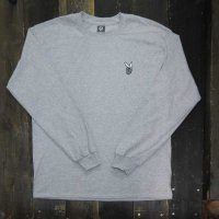 DC CLOTHING DC BOY L/S T-SHIRTS[GRAY/W-DCBOY]