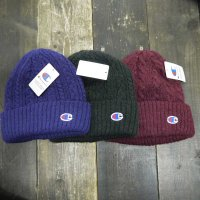 [SUPER SALE/10%OFF]Champion CABLE KNIT BEANIE[3Color] -  492-0018