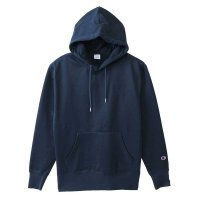 Champion SIDE LINE PULLOVER HOODED SWEAT SHIRT[NAVY] - C3-N110