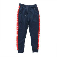 Champion SIDE LINE SWEAT PANTS[NAVY] - C3-N207