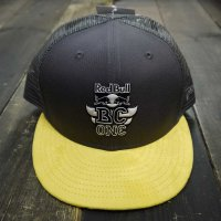 THE RED BULL BC ONE COLLECTION NEW ERA 9FIFTY BCONE MONO MESH CAP[CHACOAL/YELLOW] - BCO18016