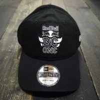 THE RED BULL BC ONE COLLECTION NEW ERA 9TWENTY BCONE MONO CAP[BLACK] - BCO18020