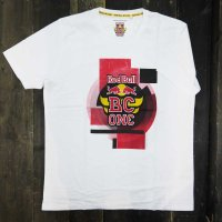 THE RED BULL BC ONE COLLECTION FLARE T-SHIRT[WHITE] - BCO18001
