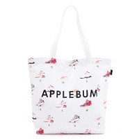 APPLEBUM  ワルモノ見参 CANVAS TOTEBAG[WHITE] - EA1821001