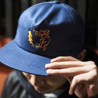 FORGET NEVER ANIMAL CYPHER BALL CAP[NAVY]