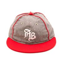 [SUPER SALE/50%OFF]APPLEBUM AB OLD TIME BALL CAP[ASH/RED] - EA1820902