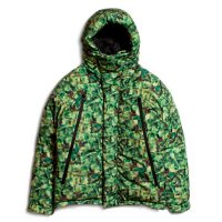 APPLEBUM x CHOP ROLL SLOW BURN PIXEL INNERCOTTON HOOD JACKET - C1820601