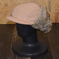 KANGOL WOOL AVATR EARFLAP CAP[CAMEL]- 188169202