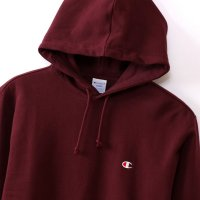 Champion  PULLOVER HOODED SWEATSHIRT[MAROON] - C3-C118