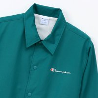 Champion C LOGO COACH JACKET[EMERALD] - C3-K604<img class='new_mark_img2' src='//img.shop-pro.jp/img/new/icons8.gif' style='border:none;display:inline;margin:0px;padding:0px;width:auto;' />
