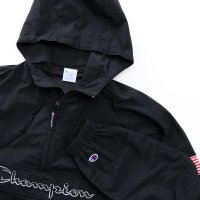 ★★★ SALE ★★★ Champion ANORAK PARKA JACKET[BLACK] - C3-L609<img class='new_mark_img2' src='https://img.shop-pro.jp/img/new/icons34.gif' style='border:none;display:inline;margin:0px;padding:0px;width:auto;' />