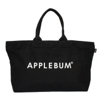 APPLEBUM LOGO CANVASZIP TOTEBAG[BLACK] - ES1911003<img class='new_mark_img2' src='//img.shop-pro.jp/img/new/icons5.gif' style='border:none;display:inline;margin:0px;padding:0px;width:auto;' />