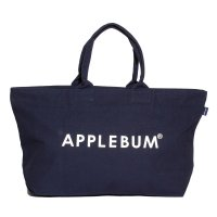 APPLEBUM LOGO CANVASZIP TOTEBAG[NAVY] - ES1911003<img class='new_mark_img2' src='//img.shop-pro.jp/img/new/icons5.gif' style='border:none;display:inline;margin:0px;padding:0px;width:auto;' />