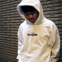 DC CLOTHING DC PLAYER HOODIE[WHITE]