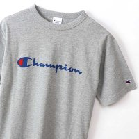 Champion BASIC LOGO T-SHIRT[OX GRAY] - C3-P302