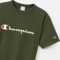 Champion BASIC LOGO T-SHIRT[DK GREEN] - C3-P302