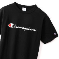 Champion BASIC LOGO T-SHIRT[BLACK] - C3-P302