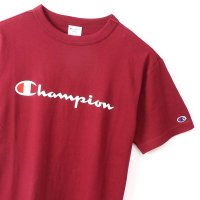 Champion BASIC LOGO T-SHIRT[MAROON] - C3-P302