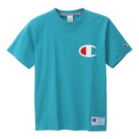 Champion BIG C LOGO T-SHIRT[AQUA] - C3-F362<img class='new_mark_img2' src='//img.shop-pro.jp/img/new/icons5.gif' style='border:none;display:inline;margin:0px;padding:0px;width:auto;' />