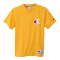 Champion BIG C LOGO T-SHIRT[YELLOW] - C3-F362<img class='new_mark_img2' src='//img.shop-pro.jp/img/new/icons5.gif' style='border:none;display:inline;margin:0px;padding:0px;width:auto;' />