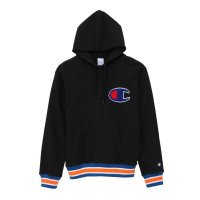 Champion PULLOVER PARKA[BLACK/ORANGE] - C3-K106<img class='new_mark_img2' src='//img.shop-pro.jp/img/new/icons5.gif' style='border:none;display:inline;margin:0px;padding:0px;width:auto;' />