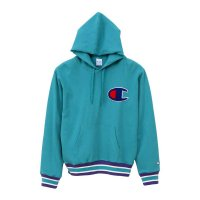 Champion PULLOVER PARKA[AQUA] - C3-K106<img class='new_mark_img2' src='//img.shop-pro.jp/img/new/icons5.gif' style='border:none;display:inline;margin:0px;padding:0px;width:auto;' />