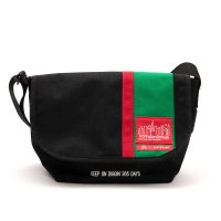 APPLEBUM×MURO×Manhattan Portage MESSENGER BAG [BLACK] - ES1911003 <img class='new_mark_img2' src='//img.shop-pro.jp/img/new/icons5.gif' style='border:none;display:inline;margin:0px;padding:0px;width:auto;' />