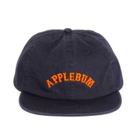 APPLEBUM ARCH LOGO FLAT 6PANEL CAP[NAVY] - 1910901