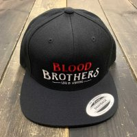 KOB Clothing BLOOD BROTHERS SNAPBACK [BLACK]