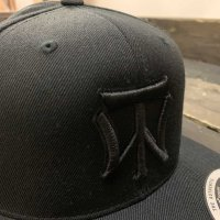 KOB Clothing TRUE WORLD SNAPBACK [BLACK]