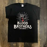 KOB Clothing BLOOD BROTHERS T-SHIRTS[BLACK]