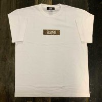 KOB Clothing KILL OFF BITE BOX T-SHIRTS[BROWN/WHITE]
