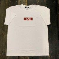 KOB Clothing KILL OFF BITE BOX T-SHIRTS[RED/WHITE]