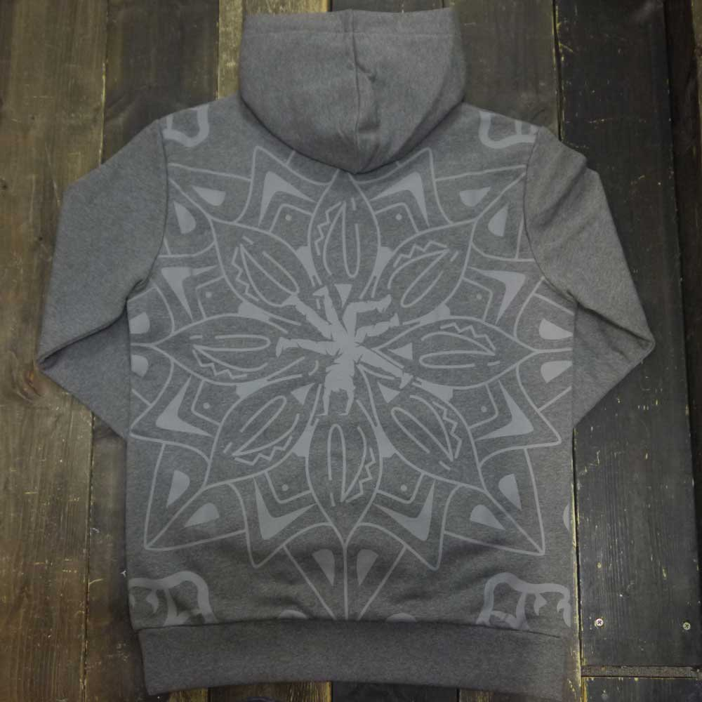 c88692fdf THE RED BULL BC ONE COLLECTION MANDALA HOODIE[GRAY] - BCO19001 ...
