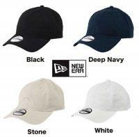 [ NEW ERA ] 9TWENTY ADJUSTABLE UNSTRUCTURED CAP / NE201   - オリジナル刺繍/プリント対応商品