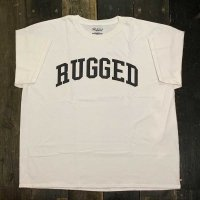 RUGGED ARCH LOGO T-SHIRTS [WHITE]<img class='new_mark_img2' src='//img.shop-pro.jp/img/new/icons8.gif' style='border:none;display:inline;margin:0px;padding:0px;width:auto;' />