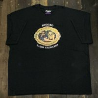 RUGGED LARGE TAXPAYERS T-SHIRTS [BLACK]