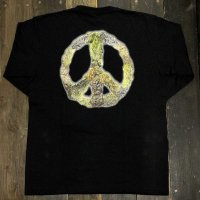 RUGGED PEACE BUDS L/S T-SHIRTS [BLACK]<img class='new_mark_img2' src='//img.shop-pro.jp/img/new/icons8.gif' style='border:none;display:inline;margin:0px;padding:0px;width:auto;' />