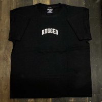 RUGGED SMALL ARCH LOGO T-SHIRTS [BLACK]