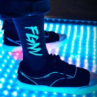 FORGET NEVER FGNV SOX[BLACK]