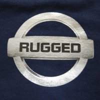 RUGGED GONE T-SHIRTS [NAVY]
