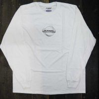 RUGGED GONE L/S T-SHIRTS [WHITE]