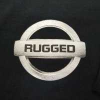 RUGGED GONE L/S T-SHIRTS [BLACK]