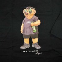 RUGGED POLO RUGGED T-SHIRTS [BLACK]