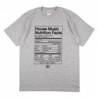 T5C DELI  NUTRITION FACTS T-SHIRTS[GRAY] - #2【SALE除外品】