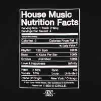 T5C DELI  NUTRITION FACTS T-SHIRTS[BLACK] - #2【SALE除外品】
