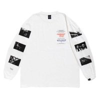 APPLEBUM NYC L/S T-SHIRT[WHITE] - CCW1911104