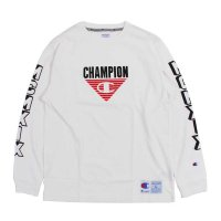 Champion MCMXIX LONG SLEEVE T-SHIRT[WHITE] - C3-Q408