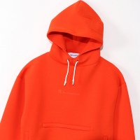 Champion Wrap-Air PULLOVER HOODED SWEATSHIRT[ORANGE] - C3-Q110<img class='new_mark_img2' src='//img.shop-pro.jp/img/new/icons5.gif' style='border:none;display:inline;margin:0px;padding:0px;width:auto;' />