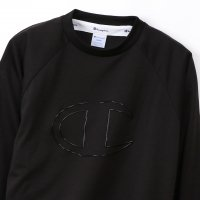 Champion LONG SLEEVE T-SHIRTS[BLACK] - C3-Q411